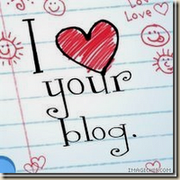 Love your blog